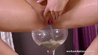 Wetandpissy - Amazingly hot pissing from perfect czech woman