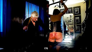 Big girl takes on a big Domination & submission challenge
