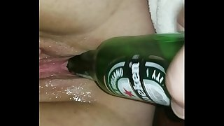 Bottle nailed and drank my wifey