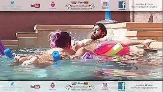 Thick Booty Latina Gives Head To Pool Guy On His Break Hot Hairy Man