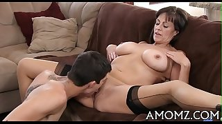Mama gets her ass fucking creampied